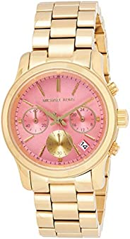 Michael Kors Women's Quartz Watch, Chronograph Display and Stainless Steel Strap MK