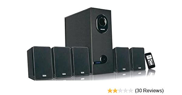philips in-dsp2600/00 5 1 multimedia speaker price: buy philips  in-dsp2600/00 5 1 multimedia speaker online in india -amazon in