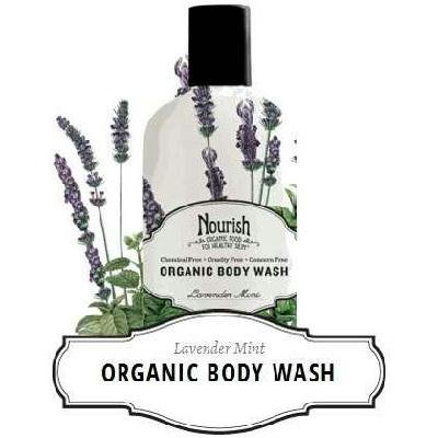 Organic Body Wash - Lavender Mint - 10 oz