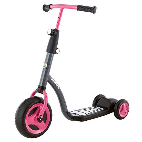 Kettler Kinderroller Kid\'s Scooter Girl - cooler Kinder-Scooter für Mädchen - Kinderroller ab 2 Jahre mit höhenverstellbarem Lenker - Roller mit drei Rädern - pink