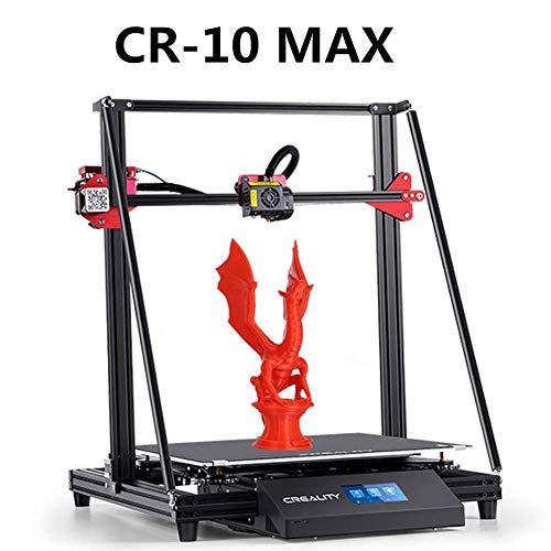 Creality CR-10Max Pro 3D Drucker 3D-Druckmaschinen Dreiecksrahmen, Auto Leveling, Fortsetzungsdruck, Bondtech Extruder Dual Gears, großes Bauvolumen 450 x 450 x 470 mm