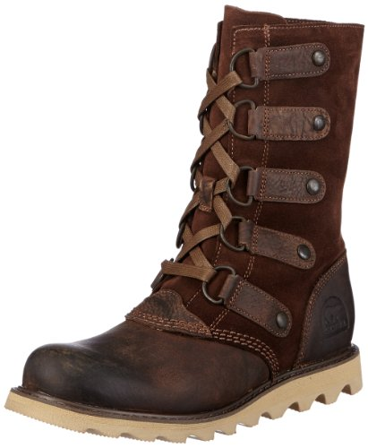 Sorel Scotia Lace Damen Langschaft Stiefel Braun (Dark Brown 202)