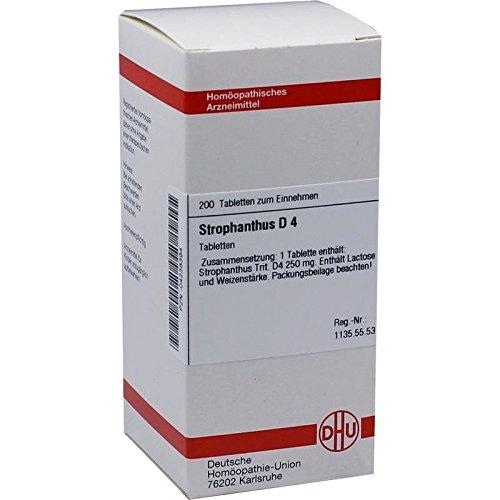 DHU Strophanthus D4, 200 St. Tabletten -