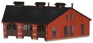 Kibri - Edificio Industrial de modelismo ferroviario H0 Escala 1:87 (9452)