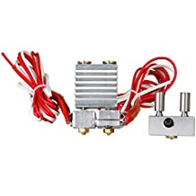 TWB 3d impresora piezas All Metal para E3D QUIMERA E3D cíclope Hotend Kit Dual Color extrusor multi-extrusion para 0,4mm/1,75