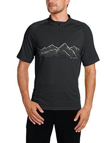 VAUDE Herren Trikot Men's Sentiero Shirt II, Black, S, 08860