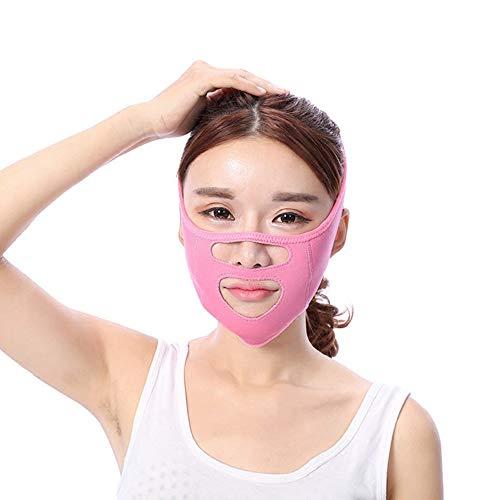 Xiao Jian- Facelifting Gürtel-dünnes Gesicht Verband Beauty Equipment Lifting Straffende Doppelkinnverordnung V Maske Schlafmaske Atmungsaktiv Face-Lifting-Verband