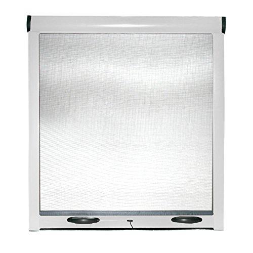 Zanzariera universale a rullo frizione per finestre zanzariere kit easy up 140x170cm