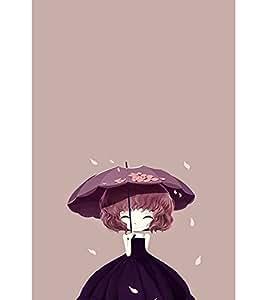 EPICCASE Little Girl with Umbrella Mobile Back Case Cover For LG G2 (Designer Case)