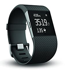 Fitbit Surge Ultimate Fitness Super Watch, Large (Black)