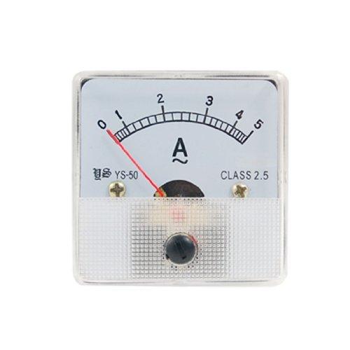 Preisvergleich Produktbild Kunststof behuizing AC 5A Analog Panel Ampèremeter Ampèremeter