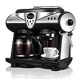 Combinaison Machine à Café, Mousse De Lait Vapeur Automatique WL-260 Commerciale Et Maison