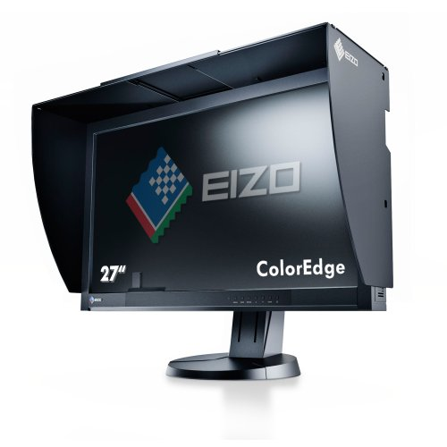 Eizo CG277 27-Inch IPS LED Self Calibrating LED Monitor (2560 x 1440, Height Adjustable, HDMI, DisplayPort, USB, DVI)