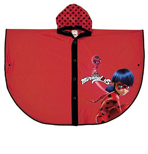 Perletti perletti99642Wundertätige Lady Bug Design Poncho Regenmantel