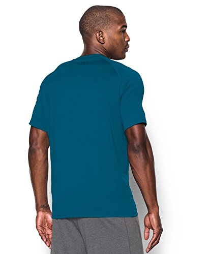 Under Armour Herren Fitness T-Shirt UA Tech Tee pfau