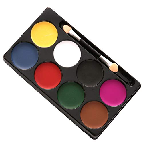 Stage Beauty Kostüm - sharprepublic 8 Colors Face Paint Body