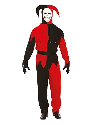 Narren Böse Kostüm - Kostüm Halloween Unheimlich Böser Hofnarr
