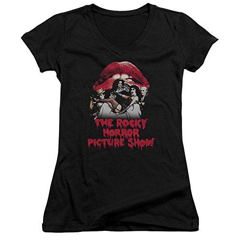 Rocky Horror Picture Show Damen T-Shirt Gr. XXL, schwarz