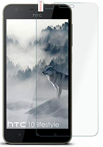moex 9H Panzerfolie für HTC Desire 10 Lifestyle | Panzerglas Bildschirm Glasfolie [Tempered Glass] Screen Protector Glas Bildschirmschutz-Folie für HTC Desire 10 Lifestyle Schutzfolie
