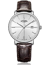Rotary Herren-Armbanduhr Analog Quarz Leder - GS00337/06