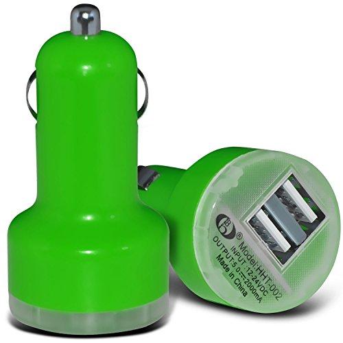 Fall für iPhone 7 Plus-Handy Smart Pinchers Form-Auto-Halterung Halter von i -Tronixs USB BLU Studio M HD Charger (Green)