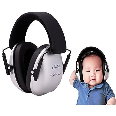 Protection AuditiveCache-oreilles Pour Bébé 3 Mois à 12 Ans – Réduction Du Bruit Et Protection D'oreille Confortable Pour Votre Enfant Et Nourrisson,,