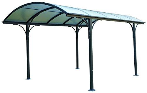 Tettoia carport per esterno in Policarbonato e Alluminio - 485 x 300 cm