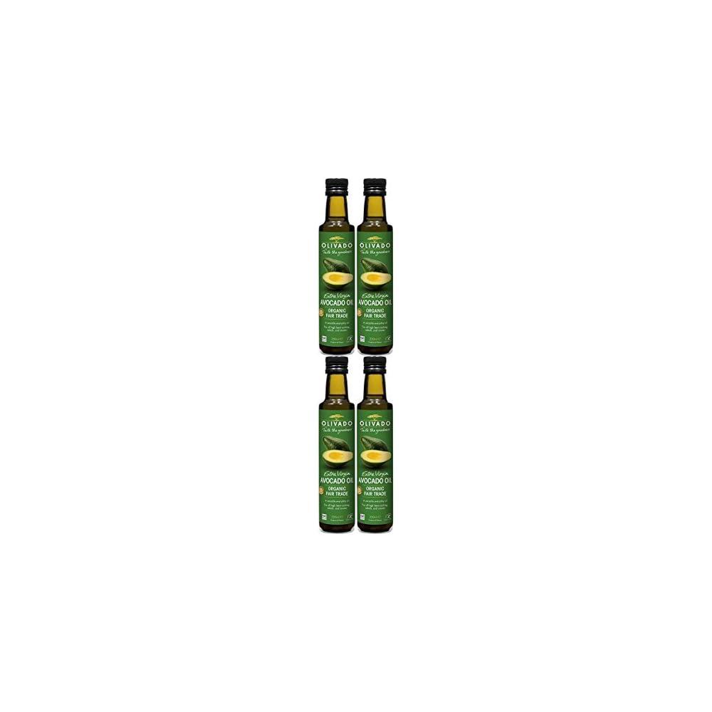 4 Pack Olivado Org Extra Virgin Avocado Oil 250ml 4 Pack Bundle By Olivado