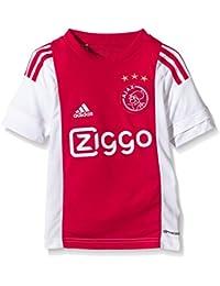 Adidas Camiseta para niños AJAX réplica de Jugadores-Inicio Blanco White/Bold Red Talla