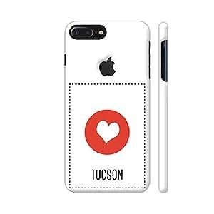 Colorpur iPhone 7 Plus Logo Cut Cover - I Love Tucson Printed Back Case