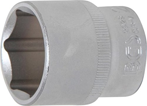 "BGS 2928 | Steckschlüssel-Einsatz Sechskant | 12,5 mm (1/2\"") | SW 28 mm"