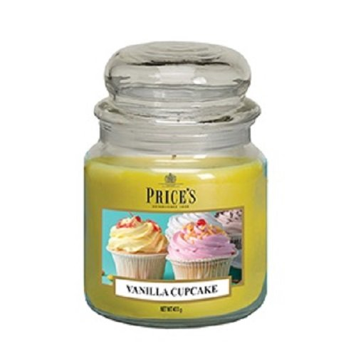 Prix de Patent Candles – Medium Bocal – Cupcake à la vanille Parfum