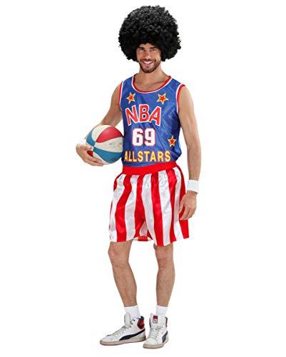 Kostüm Spieler Basketball - Horror-Shop Kostüm Basketballer für Mottoparties, Junggesellenabaschied & Fasching M