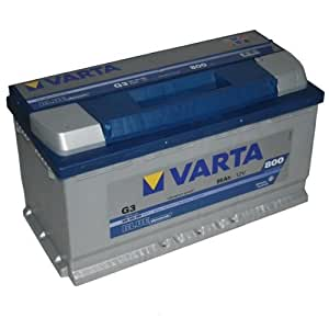 varta g3 blue dynamic car battery battery 95ah car motorbike. Black Bedroom Furniture Sets. Home Design Ideas