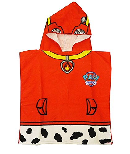 childrens-paw-patrol-marshall-hooded-bath-towel-poncho