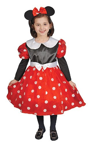 Dress Up America Deluxe Kinder Pilot Kostüm - Deluxe Minnie Mouse Kostüm