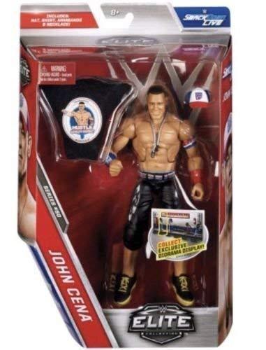 WWE serie Elite 50 Figura De Acción - John Cena Con/ Accesorios