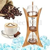 Tradico® TradicoBrand New Dutch Coffee Cold Drip Dripper Water Brew Maker Serve For 8cups 800ml Home Stand