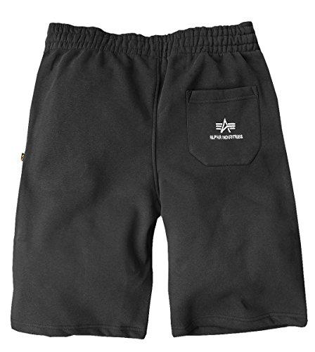 Alpha Industries Allenamento Pantaloncini Nero