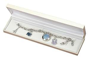 Miniature Charm Watch Bracelet With French Charms CB507