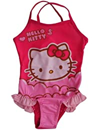 Hello Kitty Swimming Costume Pink 2 Designs Available u0214 - 4 Years