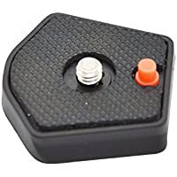 Well-portería negro 785PL de montaje rápido para Manfrotto Modo 785B 785shb/DIGI 718B y 718SHB