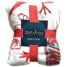 Primark Harry Potter Throw Honeydukes - Manta para Cama (125 x 150 cm)