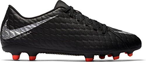 Nike-Herren-Hypervenom-Phade-Iii-FG-Fuballschuhe-Schwarz-BlackMetallic-Silver-Black-Total-Crimson-46-EU