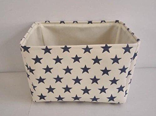 crema-star-tela-cesto-portaoggetti-alta-qualita-cestino-per-uso-domestico-con-stelle-blu-40-cms-x-30