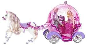 Mattel t4894 barbie accessoire poup e cal che - Caleche barbie ...