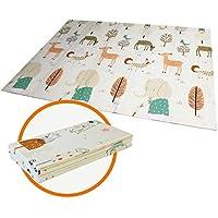 Tapis de jeu pour Bébé Enfant Tapis d'Éveil et de jeux pour Bébé Tapis pliable en mousse antidérapant imperméable Appliquer à l'intérieur et l'extérieur Non toxique
