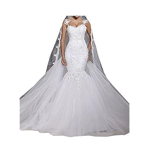 Hochzeitskleid Meerjungfrau: Amazon.de