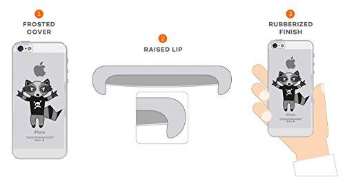 factory price 8d007 b0b41 Buy The Racoon Lean printed designer hard back mobile phone case ...