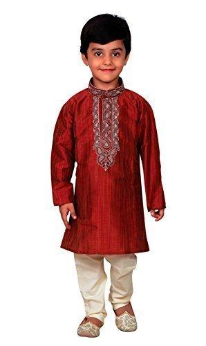 Desi Sarees Boys Sherwani Kurta Pajama Shalwar Kameez 856 (1.
